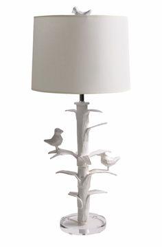 Bird lamp, so unique!