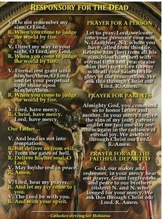 Responsory for the Catholic Bible Verses, Bible Psalms, Catholic Prayers, Catholic Theology, Prayer Scriptures, Catholic Saints, Scripture Verses, Roman Catholic, Mom Prayers