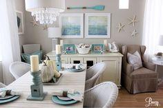 Breezy Designs: Coastal Fall Home Tour 2015!