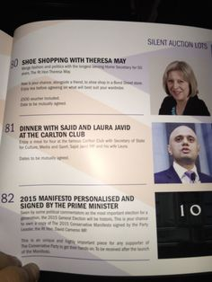 "Don't miss your chance to nip into Sole Trader with ""the longest serving Home Secretary for 50 years"""