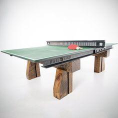 Fancy - Reclaimed Rail Table Tennis Table