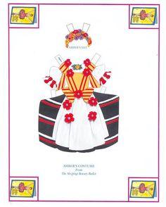 The Amazing Academy of Ballet paper dolls by Peck Aubry - Nena bonecas de papel - Picasa Web Albums