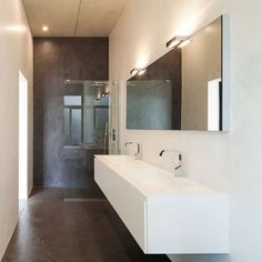 Fugenlose Badezimmer