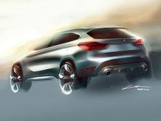 BMW reveals the new X1 - Car Body Design