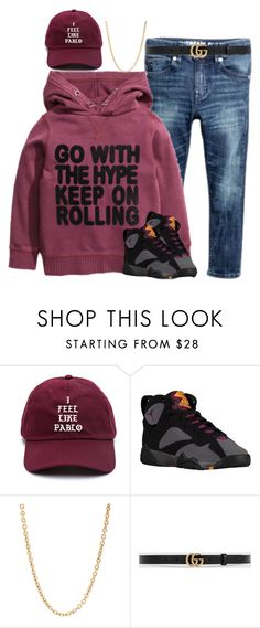 """""""Boys"""" by stylesbyjoi ❤ liked on Polyvore featuring Retrò, Mark Davis, Gucci, men's fashion and menswear"""