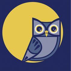 Owl #1 Illustration    anchoreddesigns.com