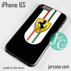 Ferrari Black Logo Phone case for iPhone 6/6S/6 Plus/6S plus