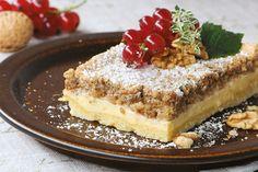 Naozaj výborná kombinácia... Cookie Bars, Bar Cookies, Sweet Desserts, Tiramisu, Rum, Cheesecake, Food And Drink, Baking, Ethnic Recipes