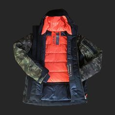 giacca PAPEETE - velluto | Mens Ski Wear, Sci, Camouflage, Skiing, Backpacks, How To Wear, Fashion, Ski, Moda