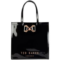29e0778f064dd Ted Baker Bowicon Large Bow Trim Shopper Bag at John Lewis   Partners. Ted  Baker TotesTed Baker HandbagTed ...