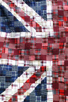 UNION FLAG QUILT. THE HOKEY POKEY MAN AND AN INSANE HAWKER OF FISH BY CONNIE DURAND. AVAILABLE ON AMAZON KINDLE
