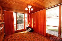 You know what's so sweet about this time capsule: It demonstrates just how a little mid century modest house that looks sort of … innocuous, albeit sweet… on the outside, can contain so many well-maintained delights on the inside. Could it be that even more so than the owners of lavish mid century modern homes, …