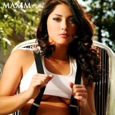 Another one of my celebrity crushes - Arianny Celeste. She actually has some T-Shirts from Cultures Clothing!