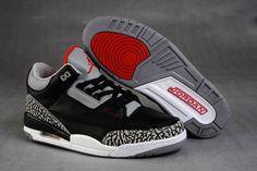 fd566b11e37d Jordans Retro 3 Cement - Black Grey White -  250.00 Air Jordan 3
