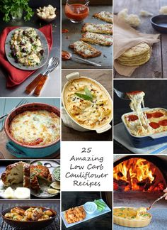 Low Carb & Gluten Free Side Dish Recipes - I Breathe... I'm Hungry...