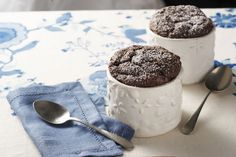 Looking for the perfect Valentine's Day recipe for your sweetheart?  How about our Chocolate Soufflés for Two?