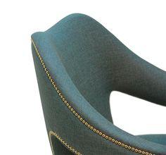 Simple Samt Stuhl Samt Sessel Hochwertige M bel Designer M bel Messing Beistelltisch Modernes