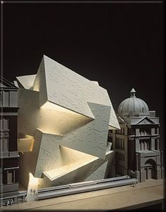 Spiral Extension to the Victoria & Albert Museum, London. Daniel Libeskind