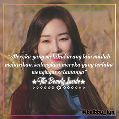 Drama The Beauty Inside Seo Hyeon Jin 2018 Quotes Drama Korea, Beauty Inside, Jin, Gin