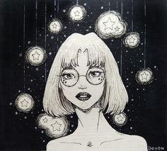 """Art by Devon """"Stars"""""""