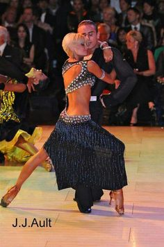 dancesport - the back of this dress is so pretty