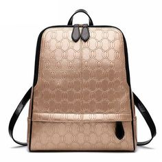 NEW 2016 Women's Vintage High-Quality Fashion Design Leather Clutch Style Backpack 13 Colors