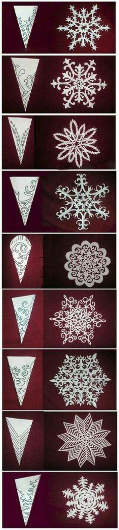 Snowflake templates ~ neat!