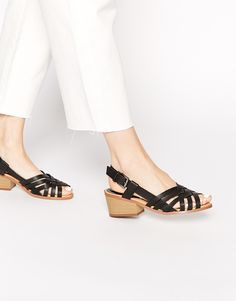 Truffle Collection Shana Strappy Mid Heeled Sandals