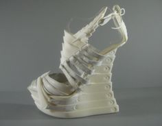 3ders.org - Inspiring Exoskeleton 3D-printed shoes | 3D Printing news