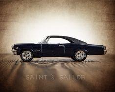 Vintage Muscle Car 65 Impala #VintageMuscleCars