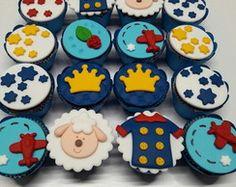 Mini Cupcake Pequeno Principe