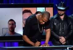Pin for Later: Beyoncé, Rihanna, Madonna et les Daft Punk Apportent Leur Soutien à Jay Z Lors du Lancement de Tidal