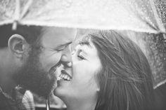 rainy day portrait