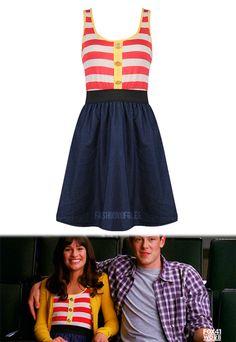 Forever 21 Denim Striped Dress