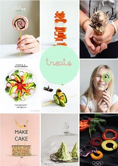 52 Willowday DIY + Treats from 2014 Jenga, Healthy Treats, No Bake Desserts, Kids Meals, Cool Kids, Artsy, Diy, Vegetables, How To Make