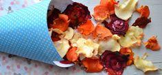 Gezonde snack: Groentechips uit de oven