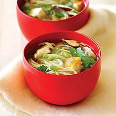 15 best Japanese recipes | Shiitake Mushroom and Tofu Soup | Sunset.com