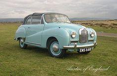 Austin A40 Somerset Convertible 1952.