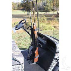 Bow Rack, Polaris Ranger Crew, 2 Guns, Custom Golf Carts, Hunting Accessories, Stand Up, Outdoor Power Equipment, Gun Racks, Jokes