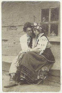 '' Чого ти Марійко сьогодні така мовчазна '', 1906 р. Україна.