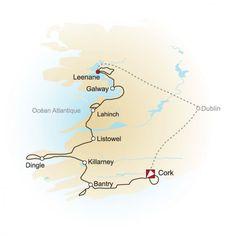 Vacances à vélo en Irlande - Circuits de vélo tourisme en Irlande -