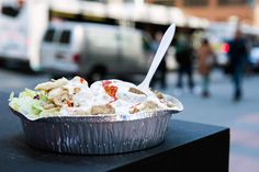 We reverse-engineered The Halal Guys' white sauce and came closer than anyone else before us.
