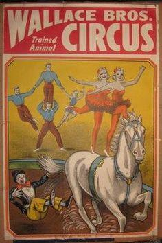 Wallace Bros Circus Poster