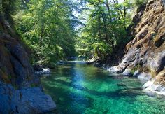 Chetco River, Oregon. Some incredible rapids on this river