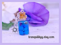 Nightlock Berries Necklace Potion Necklace Hunger by tranquilityy