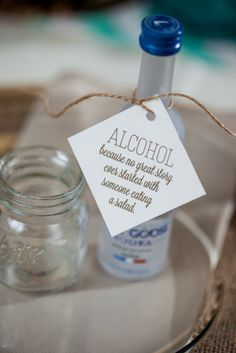 cocktailu002639s u0026quotthe booze whispereru0026quot booze wedding favors 236x353