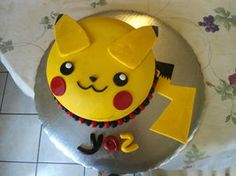Pikachu Cake by PnJLover This one looks pretty simple
