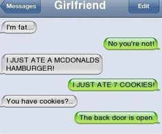 funny texts from boyfriends - Google Search