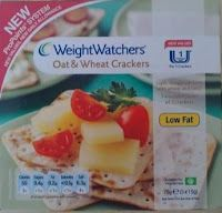 Weight Watchers Oat and Wheat Crackers