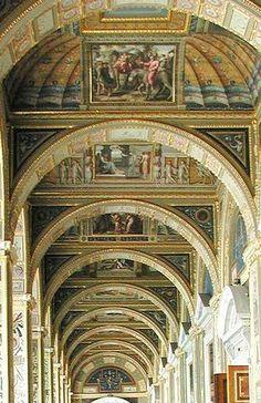 Raphael Loggia  Winter Palace  St. Petersburg